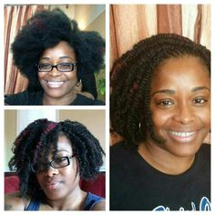 3 styles in one. Technique is interloc (strand by strand braiding) kinky synthetic/human hair blend.   #interloc#glonaturalhair #naturalhair #chicagonaturalhair #kinkytwist #twistout #afro #transitioning #teamnatural #naturalista #naturalhairdoescare #glonaturalhair #shavonakhan #xpressyourkinks