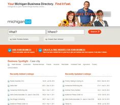 Michigan BD provides a Free Website builder allowing you to add your logo, photo's  A great way to enhance your exposure in Google