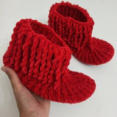 """""""Red slippers and boots"""""""