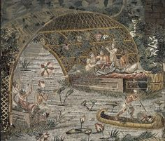 Nile mosaic. Around 1600, a mosaic floor was discovered in the 'Apsidal Room' in…