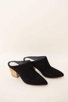 Seychelles Got The Answer Mules in black suede. The easiest mule ever, from Seychelles. Got The Answer Mules in black suede. Also available in natural suede ...