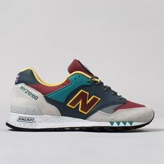 New Balance M577NGB Shoes - Navy/Light Grey