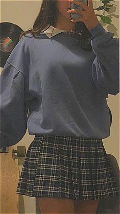 Indie Outfits, Adrette Outfits, Teen Fashion Outfits, Retro Outfits, Cute Casual Outfits, Stylish Outfits, Vintage Outfits, Cute Grunge Outfits, Hipster School Outfits
