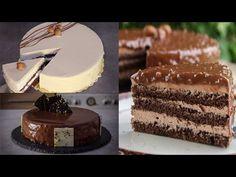 3 Εύκολες Συνταγές για Τούρτες Ζαχαροπλαστείου (Επαγγελματικές Συνταγές) - 3 Amazing Mousse Cakes - YouTube Greek Recipes, Amazing Cakes, Nutella, Tiramisu, Tube, Sweets, Foods, Ethnic Recipes, Recipes
