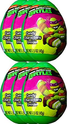 Teenage Mutant Ninja Turtles Easter Eggs Candy Characters Inside, Easter Fun, Easter EGG Hunts or Activities 2015 (PACK OF 6) Teenage Mutant Ninja Turtles http://www.amazon.com/dp/B00TZARELY/ref=cm_sw_r_pi_dp_clrTwb1DEE0GC