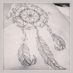 compass dreamcatcher - Google Search