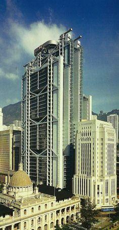 Hongkong and Shanghai Bank Headquarters. Hong Kong. 1979-1986. Foster and Partners