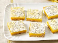 If you're craving a lemon bar, look no further: buttery shortbread and zesty lemon curd are here in abundance.