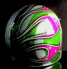 Custom painted 3/4.  www.skullcrushgear.com