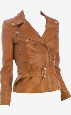 Gucci Cognac Jacket
