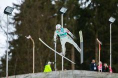 Kenneth Gangnes beim FIS Skispringen Weltcup in Engelberg / Schweiz | Sportfotograf Kassel http://blog.ks-fotografie.net/pressefotografie/fis-skispringen-engelberg-schweiz-fotografiert/