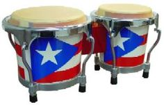 Puerto Rico Flag Bongo