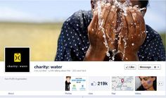 https://www.facebook.com/charitywater