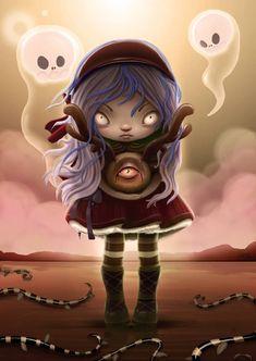 Create a Halloween-Inspired Children's Illustration in Photoshop | Psdtuts+