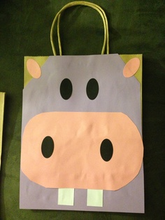 Hippo party bag