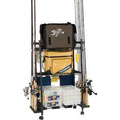 Organized Fishing Tackle Trolley $55