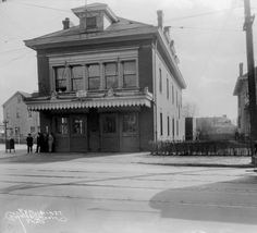 Engine Co. #21 Firehouse,2620 Frankfort Ave., Louisville, Kentucky, 1927. :: Caufield & Shook Collection