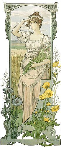 """Elisabeth Sonrel (1874-1953), """"Fleurs des Champs"""""""