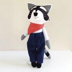 Raccoon Doll named Henry