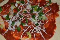 pizzás csiga 1. Thai Red Curry, Ethnic Recipes, Food, Essen, Meals, Yemek, Eten