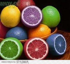Lemons soaked in food dye for 24 hours! Will it make colored lemonade? :)