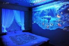 Black Light Bedroom Designs Iluminacion On Pinterest Fiber Star