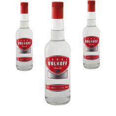 Vodka Volkoff 1 litre - LOT DE 3