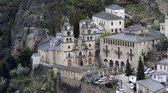 Santuario de O Bolo, en Ourense, asombra por su arquitectura y su entorno natural #Galicia #SienteGalicia