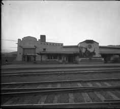 El Ortiz Hotel, Lamy, New Mexico :: Palace of the Governors Photo Archives, Jesse Nusbaum Collection   1912