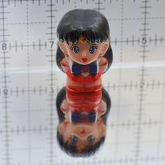 Sailor Mars finger puppet Sailor Moon figure figurine vintage Bandai Japanese…