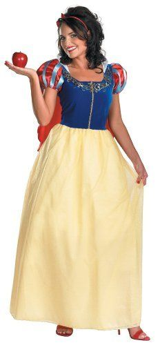 Disguise Women's Disney Snow White Deluxe Costume, Yellow/Red/Blue, Large  #Costume #Deluxe #Disguise #Disney #Large #Snow #White #Womens #WomensHalloweenCostumes #Yellow/Red/Blue Halloween Spirit
