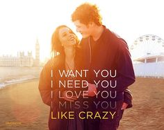 Like Crazy = one of my all time favorite movies.