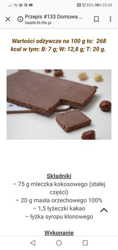Gluten Free Recipes, Vegan Recipes, Cooking Recipes, Healthy Dishes, Healthy Eating, Fodmap, Sugar Free, Nom Nom, Food And Drink
