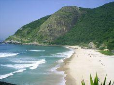 Rio, Brazil - Macumba Beach