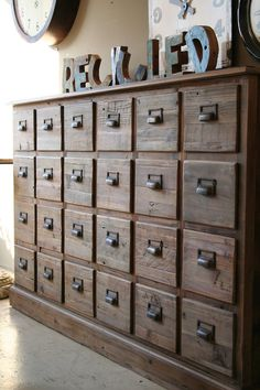 *Antique File Cabinet