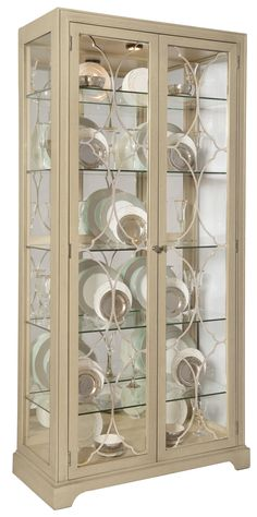 Superbe Display Cabinet | Bernhardt