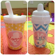 Personalized sippy cups  Easter buckets & more!