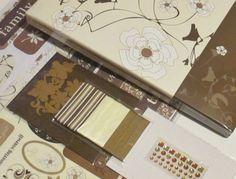 Floral Scrapbook 500 Piece Wedding Guest Book by TheSupplyDestash