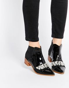 Image 1 - ASOS - ROCK CITY - Bottines ornementées pointues