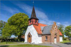 Christian Müringer - Alte Kirche in Halse auf Bornholm (Dänemark)
