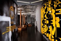 Rafael de Cárdenas / Architecture At Large - NIKE / Bowery Stadium Gym Interior, Office Interior Design, Office Interiors, Showroom Design, Exhibit Design, Environmental Graphics, Environmental Design, Nike World, Nike Store
