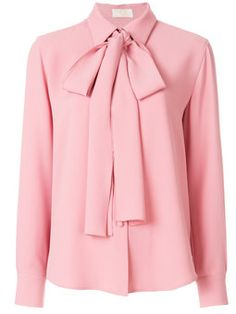 Save money on bow tie blouse Hijab Fashion, Modest Fashion, Fashion Dresses, Fashion Tips, Fashion Design, Fashion Hacks, Bow Tie Blouse, Blouse Dress, Blouse Styles