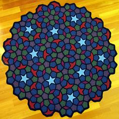 Penrose...This is a crocheted work of art!!..Amazing blanket,and the pattern is free!!