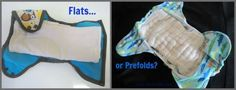 Should You Buy Flat Cloth Diapers or Prefold Cloth Diapers?