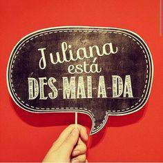 Juliana desmaiada!