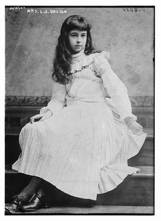 Photograph shows Consuelo Vanderbilt (1877-1964) whose first marriage to the 9th Duke of Marlborough ended in divorce, and who later married Lt. Col. Jacques Balsan, a French pilot, in 1921. (Source: Flickr Commons project, 2015)