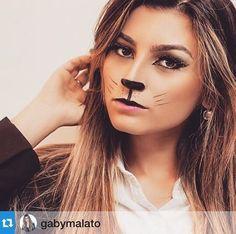 A blogueira Gaby Malato maquiada pelo Beauty Team da NYX Belém