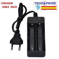 110V 220V Dual Cargador Para 18650 3.7V Recargable Li-Ion Baterías EU
