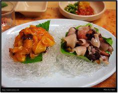 멍게, 개불, Korea Risotto, Ethnic Recipes, Food, Gourmet, Essen, Meals, Yemek, Eten