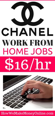 Chanel Perfumes is Hiring Work from Home in 16 States